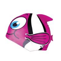Spokey Rybka gyerek úszósapka, pink